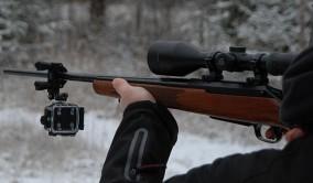 Veho Muvi K2, kamera på gevär