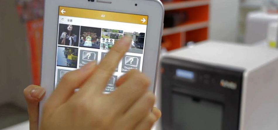 HiTi P520L skriver ut foto från smarta enheter