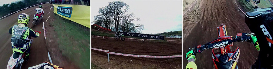 Veho Muvi K2 på brittiska mästerskapen i motocross