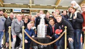 Stanley Cup-pokalen i Valbo
