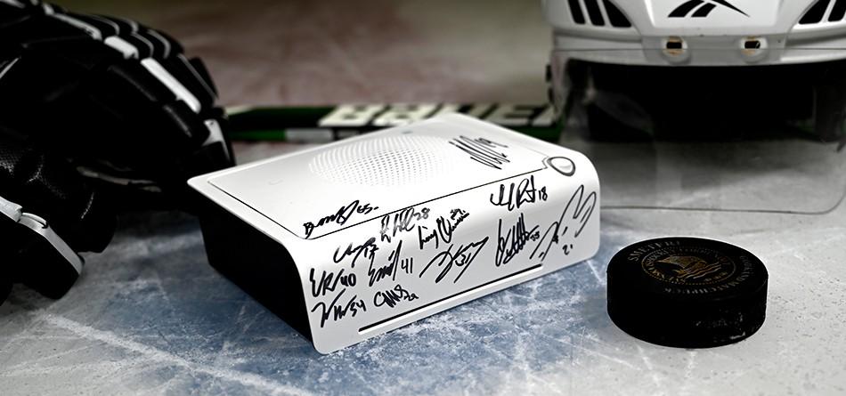 signerad av NHL-spelare