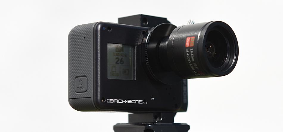 Back-Bone H6PRO – en GoPro för valfri optik