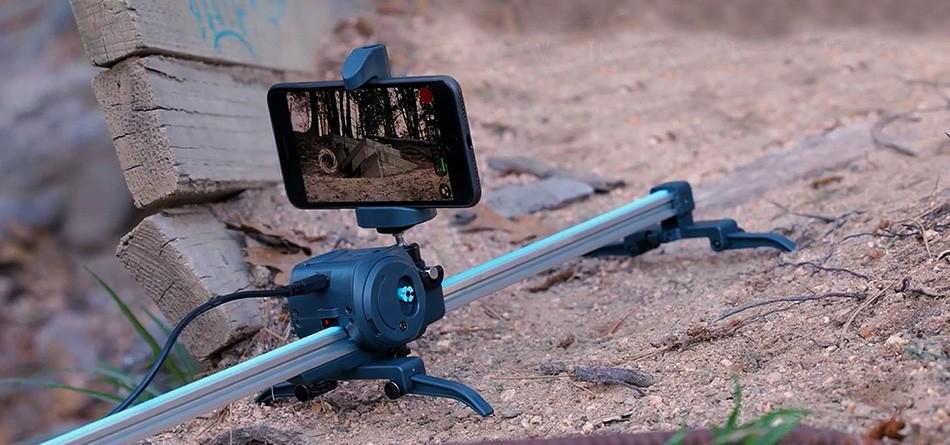 Movie Maker - motoriserad kameraslider för en tuff budget