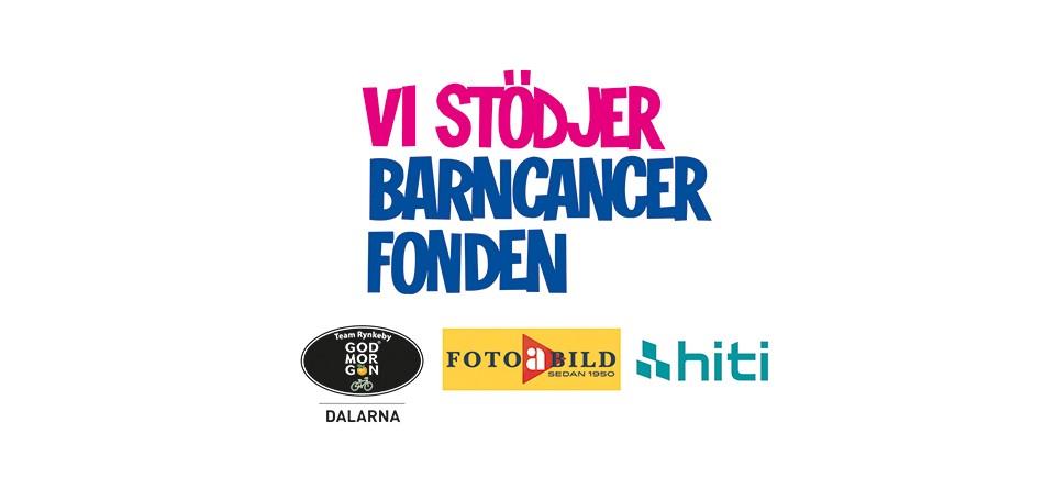 HiTi skriver bilder till stöd för Barncancerfonden