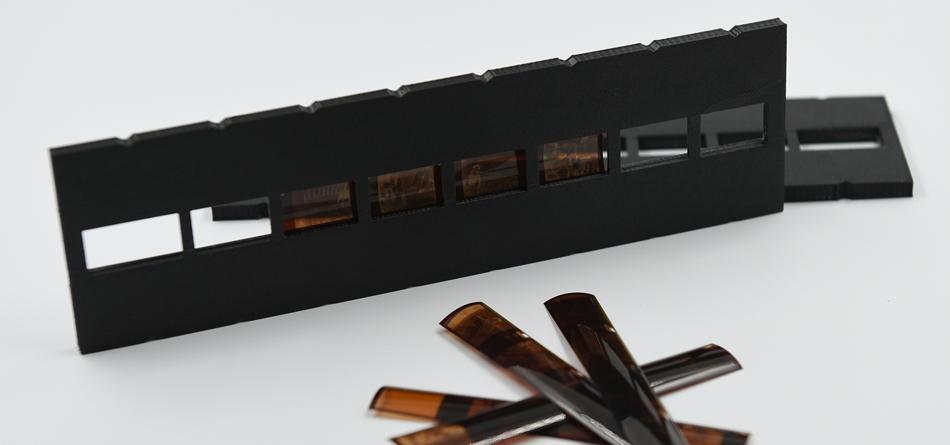 Filmhållare för Pocket Instamatic 110-film till Plustek filmskanner