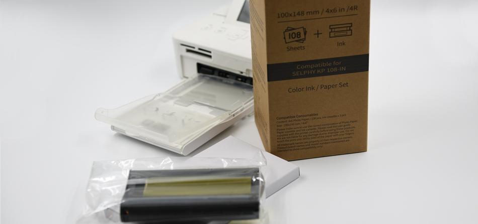 Miljövänligt fotopapper till Canon Selphy
